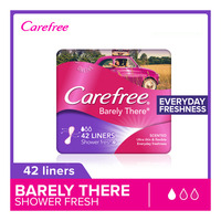 Carefree Barely There Panty Liners - Shower Fresh