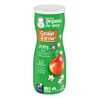 Gerber Organic Baby Puffs - Apple