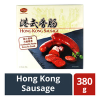 Tierney's Hong Kong Sausage