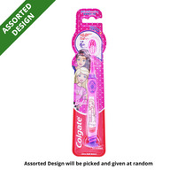 Colgate Kids Toothbrush - Barbie/Spiderman (5 - 9 years)