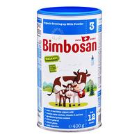 Bimbosan Organic Growing Up Milk Formula - Stage 3 400G