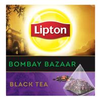 Lipton Pyramids Black Tea Bags - Bombay Bazaar