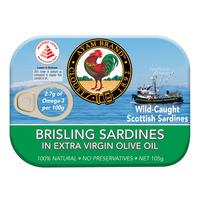 Ayam Brand Brisling Sardines - Extra Virgin Olive Oil