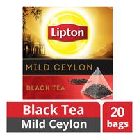 Lipton Pyramids Black Tea Bags - Mild Ceylon