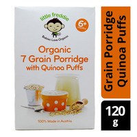 Little Freddie Organic Baby Porridge - 7 Grain (Quinoa Puffs)
