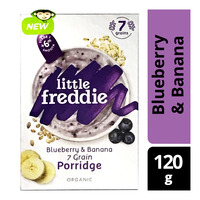 Little Freddie Organic Baby Porridge- 7Grain (Blueberry & Banana)