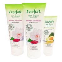 Eversoft Organic Cleanser -Whiten & Radiant+50g Extra Nourish