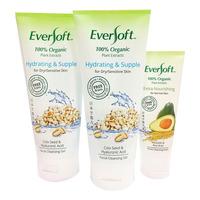 Eversoft Organic Cleanser -Hydrating&Supple+50g Extra Nourish