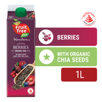F&N Fruit Tree Fresh Wonders Juice  - Berries & Chia Seeds