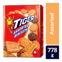 Tiger Biscuits Tin - Assorted