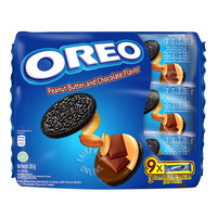 Oreo Cookie Sandwich Biscuit - Peanut Butter & Chocolate