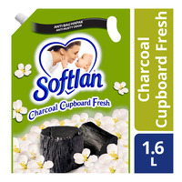 Softlan Fabric Conditioner Refill - Charcoal Cupboard Fresh