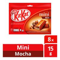 Nestle Kit Kat Mini Chocolate Bar - Mocha  8 x 15G