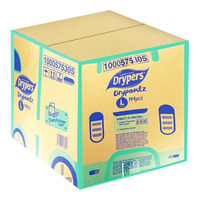 Drypers Drypantz Diapers-L (9-14kg) + Free Stickers 144 S (CTN)