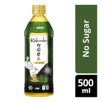 Oishi Japanese Green Tea Kabusecha Bottle Drink - No Sugar