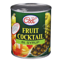 Ice Cool Fruit in Syrup - Cocktail