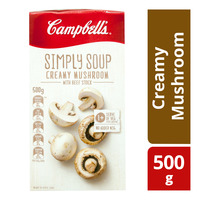 Campbell's Instant Simply Soup - Creamy Mushroom
