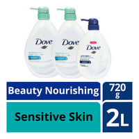 Dove Body Wash - Sensitive Skin + BeautyNourishing