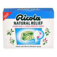 Ricola Natural Relief Swiss Herb Lozenges - Extra Menthol