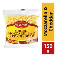 Tradition Shredded Cheese - Mozzarella & Cheddar