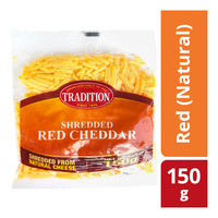 Tradition Shredded Cheddar Cheese - Red (Natural)