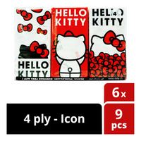 Hello Kitty Tissues - Icon (4ply)