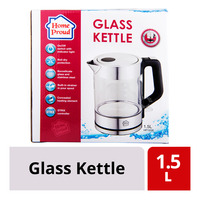HomeProud Glass Kettle