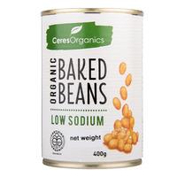 Ceres Organics Low Sodium Baked Beans