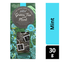 Tesco Finest Green Tea Bags - Mint