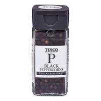 Tesco Whole Black Peppercorns