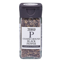 Tesco Coarse Ground Spice - Black Pepper