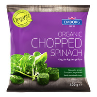 Emborg Organic Frozen Chopped Spinach