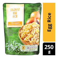 Tesco Microwave Meal in Pouch - Egg Rice