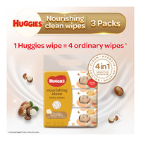 Huggies Baby Wipes - Nourishing Clean