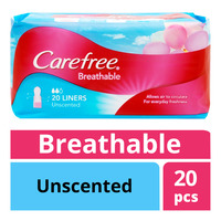 Carefree Breathable Liners - Unscented