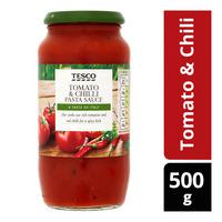 Tesco Pasta Sauce - Tomato & Chili