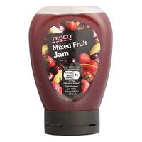 Tesco Squeezy Jam - Mixed Fruit