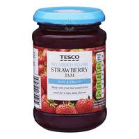Tesco No Added Sugar Jam - Strawberry