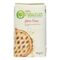 Tesco Organic Flour - Plain