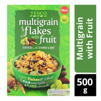 Tesco Flakes Cereal - Multigrain with Fruit