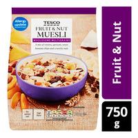 Tesco Muesli Cereal Flakes - Fruit & Nut