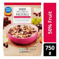 Tesco Muesli Cereal Flakes - 50% Fruit