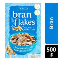 Tesco Flakes Cereal - Bran