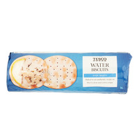 Tesco Biscuits - High Baked Water
