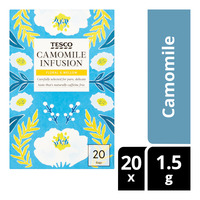 Tesco Infusion Tea Bags - Camomile