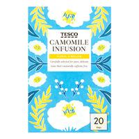 Tesco Infusion Tea Bags - Camomile