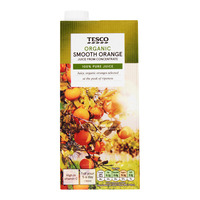 Tesco Organic Juice - Orange