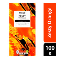 Tesco Chocolate Bar - Zesty Orange