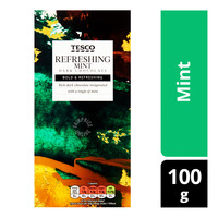 Tesco Plain Chocolate Bar - Mint