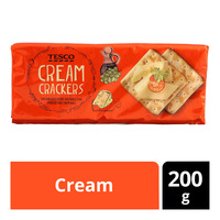 Tesco Crackers - Cream